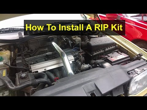 How to install a RIP (reverse intercooler pipping) kit on a Volvo 850, S70, V70, V70R, etc. – VOTD