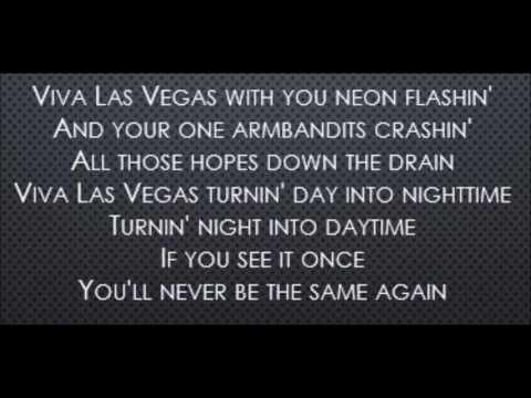 Viva Las Vegas - Elvis Presley (Lyrics)