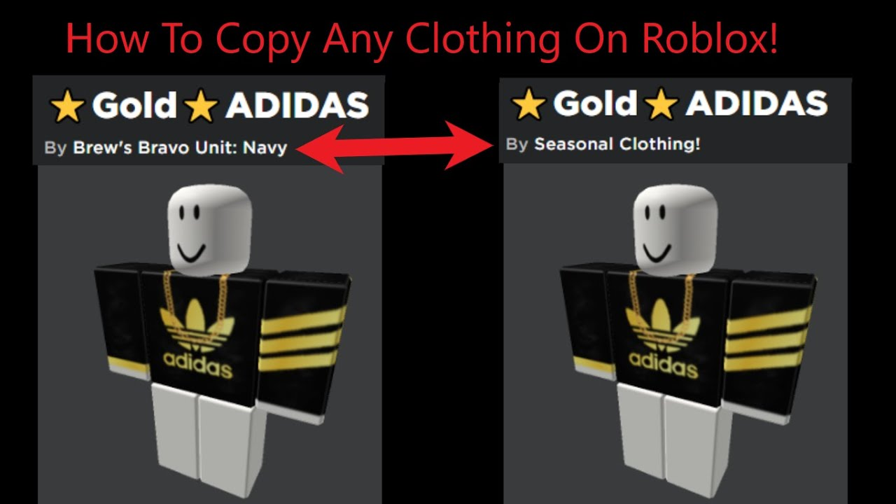 How To Copy Shirts And Pants On Roblox 2020 Youtube