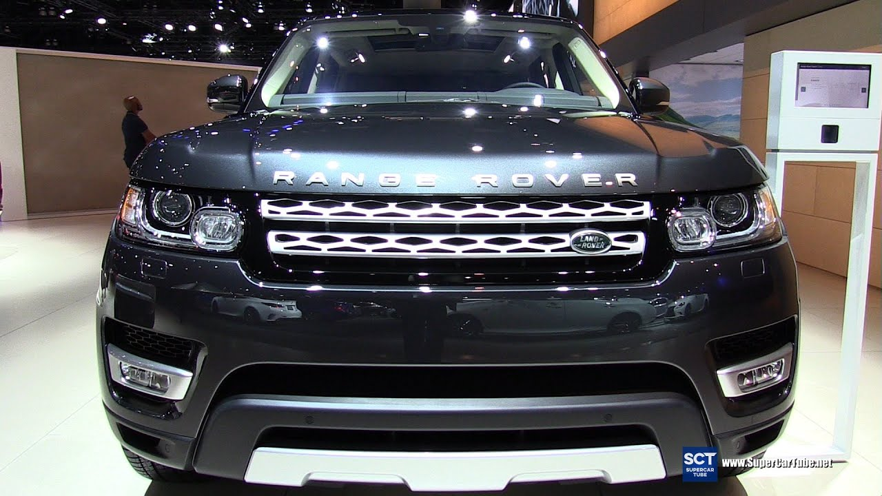 2016 range rover sport hse exterior and interior walkaround 2015 la auto show youtube. Black Bedroom Furniture Sets. Home Design Ideas