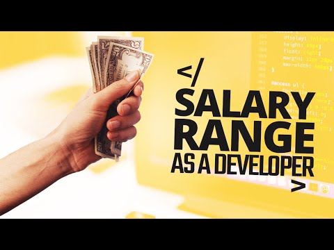 Salary Range As A Software Developer