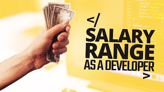 Salary Range As A Software Developer