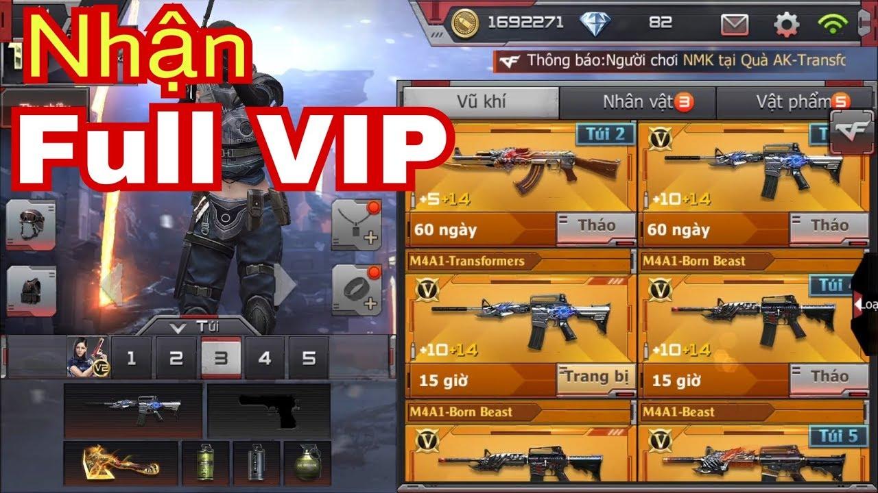 Hack Full VIP Crossfire Legends/ CF Mobile Bản Chính Thức ( Dùng Được Nhé )  || Phúc Xấu Trai ✔️
