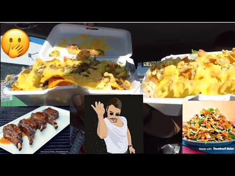 Flic Of The Wrist Food Review!!!   MAM EATING SHOW!!!   LAMB CHOPS AND NACHOS