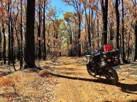 Afternoon ride around the Mundaring forest (Perth Western Australia)