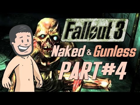 Fallout 3 Naked & Gunless - #4 Naked in Robot Factory