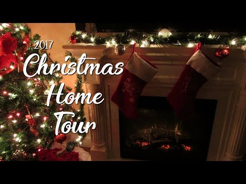 CHRISTMAS HOME TOUR 2017 | Traditional Holiday Home Decor | Lauren Midgley