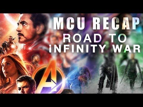 MCU Recap - Road to Infinity War (In Chronological Order)