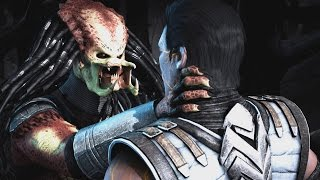Mortal Kombat X - Predator Unmasked/No Mask Does All Fatalities/Fatality Swap  (1080p 60FPS)