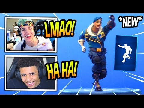 "NINJA & MYTH REACT TO *NEW* ""PUMPERNICKEL"" EMOTE/DANCE! Fortnite FUNNY & SAVAGE Moments"