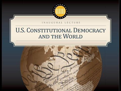 """Kinder Institute Chair Jay Sexton's Inaugural Lecture, """"U.S. Constitutional Democracy and the World"""""""