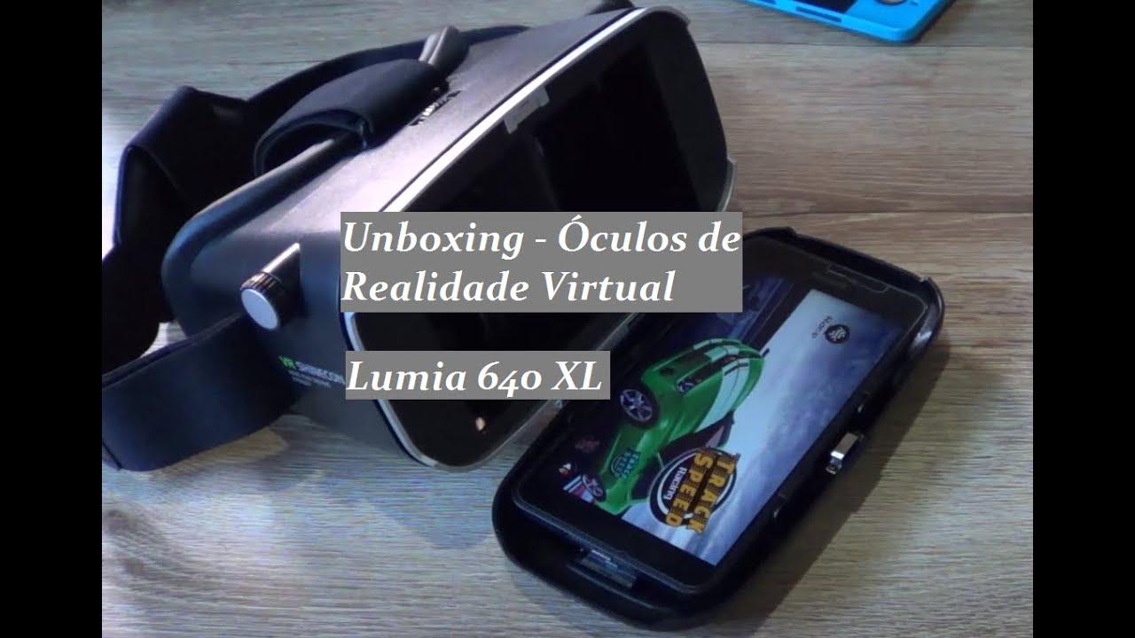 f28562bb9eb44 Unboxing - Óculos Realidade Virtual da VR Shinecon - Tipo Google Cardboard