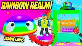 * NEU * RAINBOW REALM UND PET TRADING IN BLOB SIMULATOR UPDATE!! (Roblox)