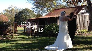 Bill and Jessica Weaver Wedding Video