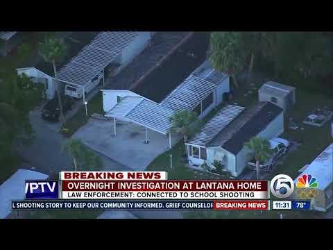 Deputies surround Lantana-area home connected to Parkland school shooting suspect
