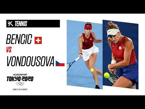 BENCIC vs VONDROUSOVA   Women's Tennis Final - Highlights   Olympic Games - Tokyo 2020