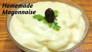 Homemade Mayonnaise recipe/easy mayonnaise recipe by Easy way to Learn