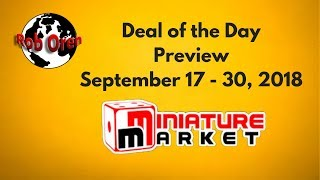 Miniature Markets Deal of the Day- Sept 17 - Sept 30
