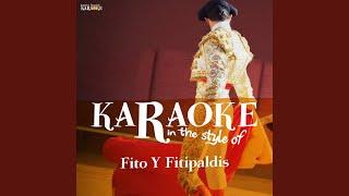 Acabo De Llegar (Karaoke Version)