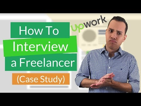 Upwork Freelancer Interview Example (Real World Case Study)