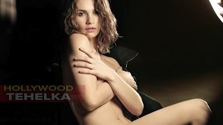 Lily James Hottest Photoshoot | Poses Topless In New Campaign For My Burberry Black