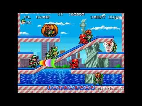 Tumble Pop (World) ROM MAME ROMs