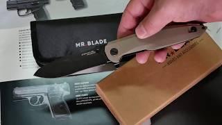 Складной нож Mr. Blade Convair Desert Tan