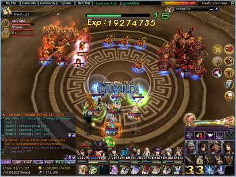 Atlantica Online Olympus Tower XIII Tough Guys (Hero) (Eden / ANYAIM)