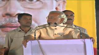 Shri Narendra Modi addresses Bharat Vijay Rally in Vadodara (Gujarat) - 24th April 2014