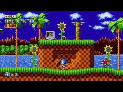 Como Jugar De 2 Jugadores En Sonic Mania Youtube