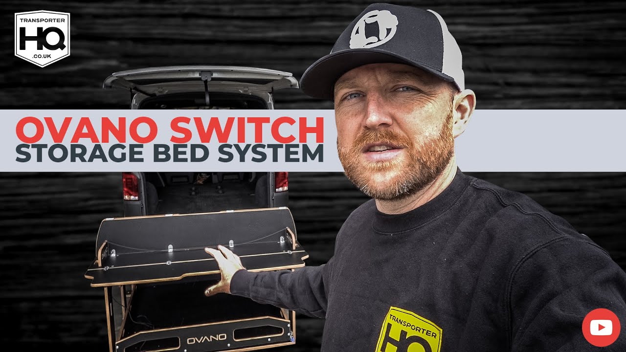 Ovano Switch VW Transporter Storage Bed System | Transporter HQ