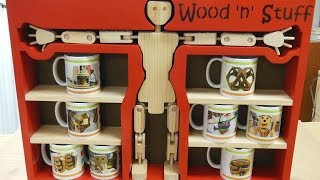 Woody's Mug Rack: Kitchen Utensil Build Challenge (woodworking)