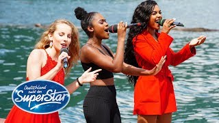 "DSDS 2019 | Gruppe 03 | Clarissa, Alicia, Jayla mit ""Empire State Of Mind (Part II)"" von Alicia Keys"