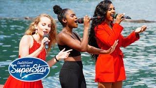 DSDS 2019 | Gruppe 03 | Clarissa, Alicia, Jayla mit