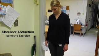 isometric exercises for shoulder abduction