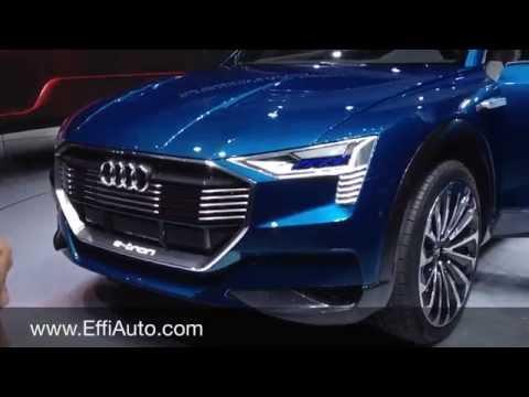 Audi e-tron Quattro - full electric SUV (BEV - battery electric vehicle)