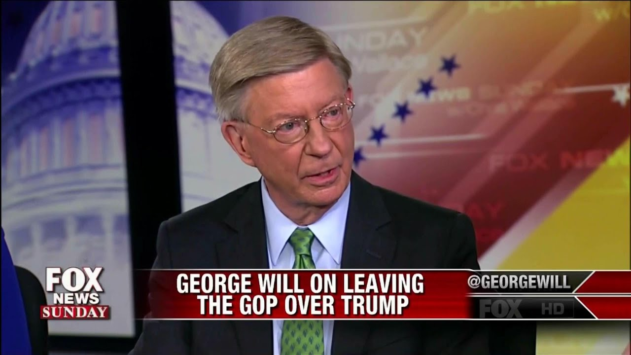 Image result for george will quits republican party