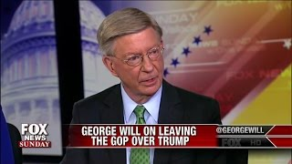George Will Responds to Trump's Tweet on Him Leaving Republican Party