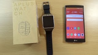 GV18 Aplus Smartwatch Phone - Review