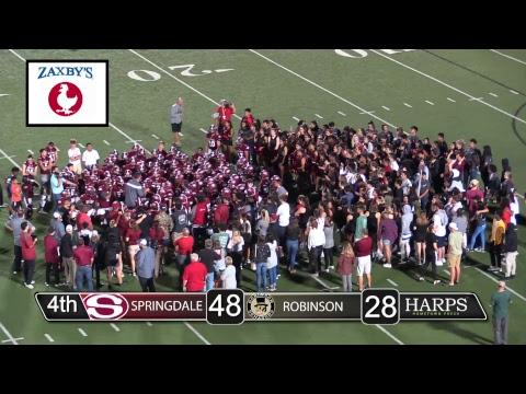 Springdale Bulldog Football | vs. Joe T. Robinson High School