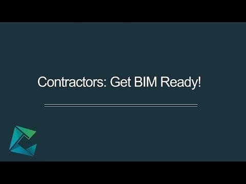 Webinar - Contractors: Get BIM Ready!