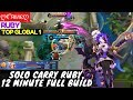 Solo Carry Ruby 12 Minute Full Build                    Ruby Gameplay And Build