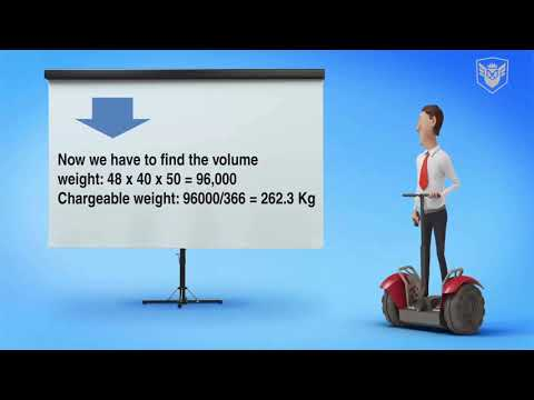 Air freight // Chargeable weight concept