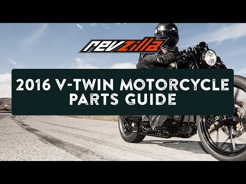 2016 V-Twin Motorcycle Parts Upgrade Buying Guide at RevZilla.com