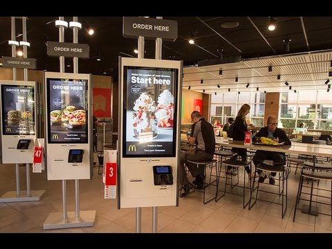Job Killer: McDonald's Adding Automated Order Machines to All Restaurants