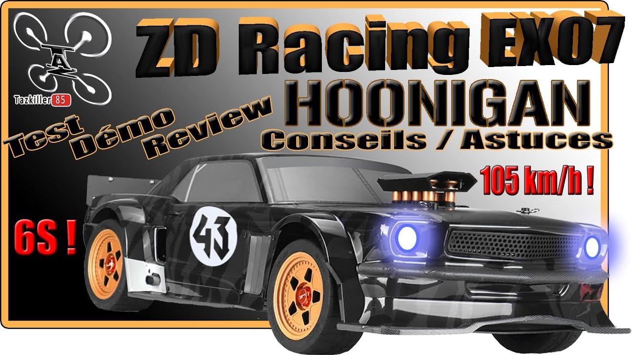 Download ZD Racing EX07 HOONIGAN - Review Test Démo Conseil et Mise en garde - Résultat concours permanent !