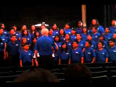 Fontana middle school choir