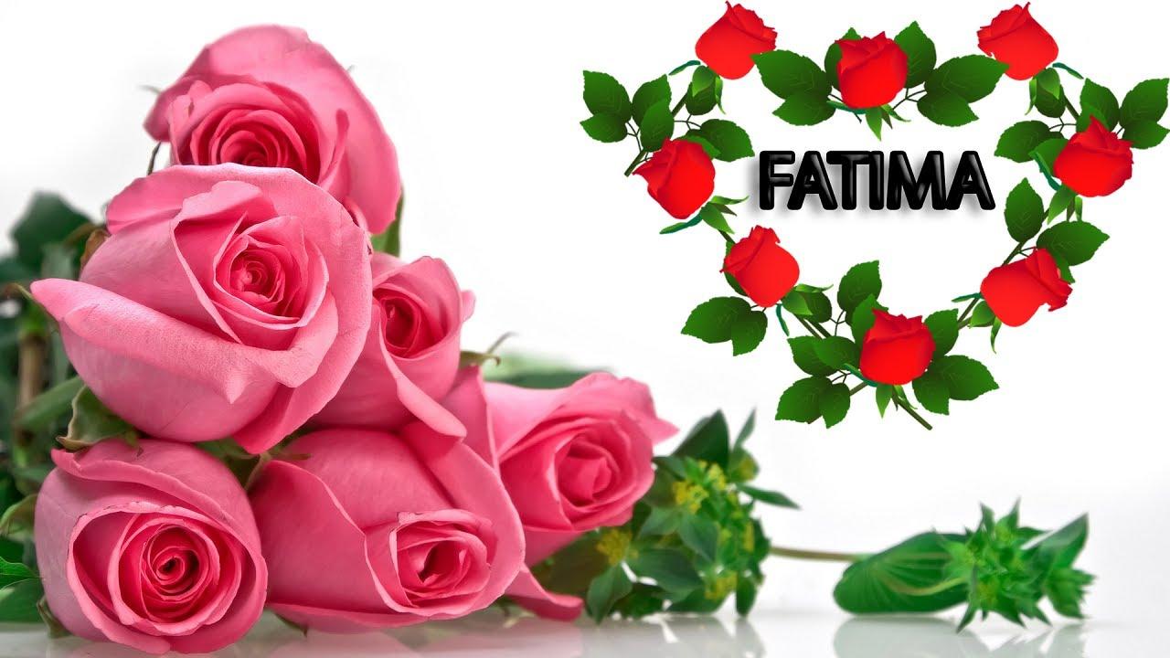 Поздравления с именем фатима