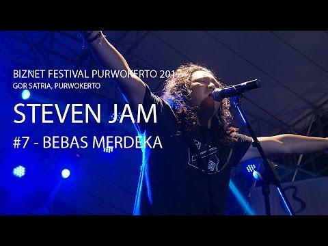 Biznet Festival Purwokerto 2017 : Steven Jam - Bebas Merdeka