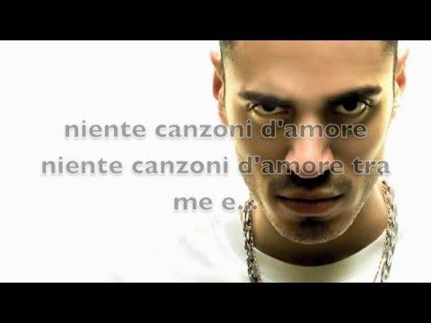 Marracash ft. Federica Abbate - Niente canzoni d'amore Lyrics